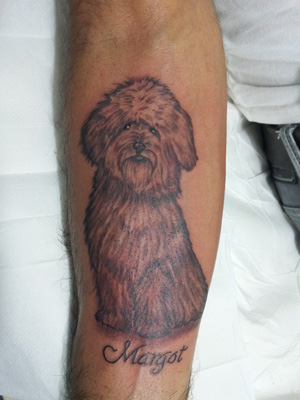 tattoo animali cane