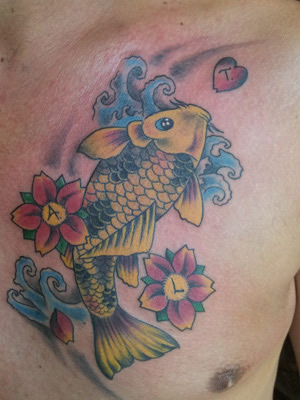 carpa coi tattoo
