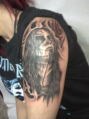 rock metal tattoo