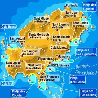 Spagna E Isole Baleari Cartina.Viaggio A Ibiza Spagna Artuto Capitolino Ac2 Tattoo